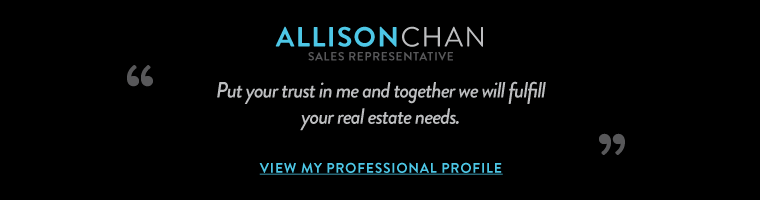 Put your trust in me and together we will fulfill your real estate needs.