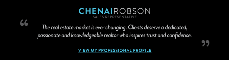 The real estate market is ever changing. Clients deserve a dedicated, 