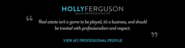 Real estate isn't a game to be played, it's a business, and should  be treated with professionalism and respect.