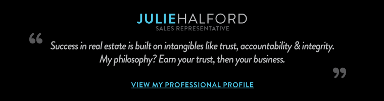 Success in real estate is built on intangibles like trust, accountability & integrity.  My philosophy? Earn your trust, then your business.