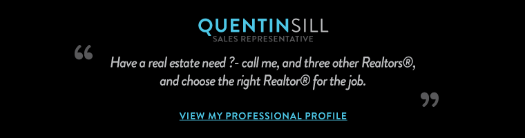 Have a real estate need ?- call me, and three other  Realtors®, and choose the right Realtor® for the job.