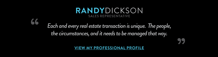Each and every real estate transaction is unique.  The people, the circumstances, and it needs to be managed that way.