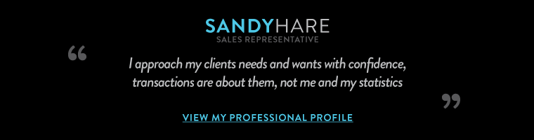 """""""I approach my clients needs and wants with confidence, transactions are about them, not me and my statistics"""""""