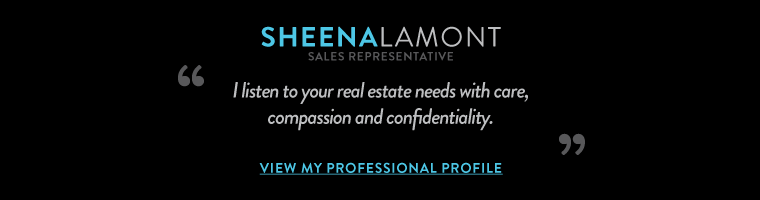 I listen to your real estate needs with care,  compassion and confidentiality..