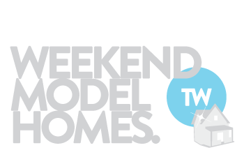 Weekend model homes